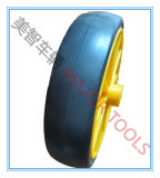 6X1.5 Plastic Child Barrow Wheels PVC Tire com PP Rim
