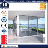 Innen-/Außenpatio-Aluminium-/Aluminium-schiebende u. faltende Sicherheits-Glas-Türen