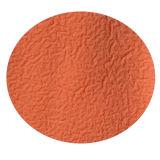 13G白いポリエステルはさみ金のオレンジ泡乳液のコーティングの庭の手袋