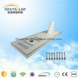 Indicatore luminoso solare Integrated potente per la strada campestre con il supporto rotondo (HXXY-ISSL-100)