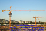 Hongda 8 Ton Flat Top Tower Crane