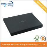 Caixa de papel Handmade preta Matte personalizada (AZ-121904)