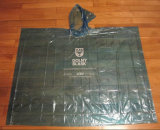 Firmenzeichen gedruckter heißer verkaufender Wegwerfplastikregen-Poncho, freier Raum wasserdichtes PET Wegwerfregen-Poncho