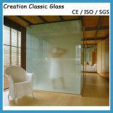 травленое стекло кислоты 3-15mm, Smoked стекло, матированное стекло, стекло сатинировки