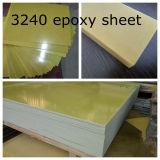 Feuille époxy isolante 3240 de tissu en verre de feuille