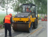 Strecke-Rollen-Fabrik 6 Tonnen-Stahlrad-Vibrationsrolle (YZ6C)