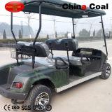 Chariot de golf électrique de voiture de club de 4 Seater
