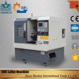 CNCの旋盤機械を回し、磨くCk80Lの低下のベッド