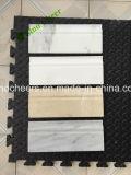 Mattonelle bianche di Carrera dell'alto pavimento di marmo di Quanlity