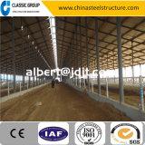 Azienda agricola d'acciaio della mucca della struttura di configurazione dell'Assemblea facile con il disegno