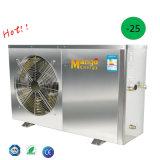 Acero inoxidable En14511 probado por el sistema aire-agua de la pompa de calor de la pompa de calor del TUV