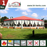 Outdoor Wedding Party를 위한 주문품 다중 Side Circus Hexagonal Gazebo Canopy Tent
