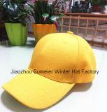 Бейсбольная кепка спорта дешевого цвета шлемов панели таможни 6 пустого опционная