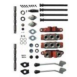 DL20 4スプールトラクターのための油圧多重制御弁のハンドル