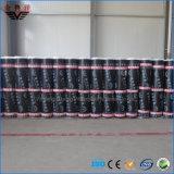 Membrana impermeable modificada Sbs auta-adhesivo de Bitumious, membrana impermeable del betún
