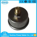 """type indicateur de pression rempli d'huile de glycérine de dos d'acier inoxydable de 1.5 """" 40mm ou de silicones de 250bar"""