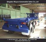 Axle 2 20FT наклоняя Dumper контейнера трейлера