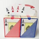 Cartões de jogo do póquer de 100% Plastic/PVC Texas