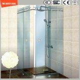 簡単なシャワー室、シャワー機構、シャワーの小屋、浴室、シャワー・カーテンを滑らせる調節可能な6-12緩和されたガラス