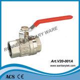 Латунный фикчированный шариковый клапан (V20-001A)