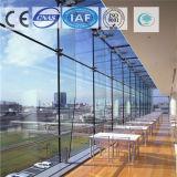 Color azul marino/vidrio de flotador teñido/claro para el edificio/la decoración