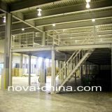 Pesada Duty Floor Acero Mezzanine