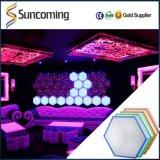 RGB LED 3D ديسكو الطاقة أسقف أضواء ضوء لتاجر الجملة