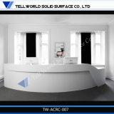 Sgs-Bescheinigungs-fester Oberflächenempfang-acrylsauerschreibtisch (TW-085)