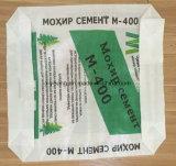 Мешок сплетенный мешком PP клапана дна блока цемента PP цемента 50kg