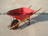 Nomes do carrinho de mão de roda Wb4017 das ferramentas de jardim com a bandeja do revestimento do pó