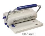 A4 machine à relier CB-1250/CB-1250h de livre de peigne de trous du manuel 24