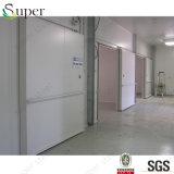 Sitio sin llamar de conservación en cámara frigorífica del edificio con para la carne