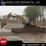 Undercarriage Pontoon Jyae-96를 가진 뜨 Dredger 습지 Cat Excavator