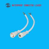 Utilisation de la longueur 40cm de fil pour la DEL allumant la prise électrique de 5 bornes