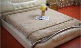 Cobertor coral contínuo do Waffle do velo da alta qualidade contínua macia super de Blanaket Sr-B170211-16 do Waffle da flanela