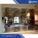 Specchio antico, vetro decorativo, specchio di arte