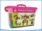 o enigma magnético de 168PCS DIY brinca brinquedos educacionais da sabedoria para crianças