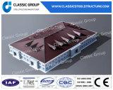 Magazzino prefabbricato personalizzato della struttura d'acciaio