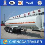 Petrolero, petrolero de gasolina y aceite, 3 acoplados del tanque de petróleo de los árboles 42000L 45000L para la venta