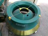 凹面マンガンMn18 Gp100円錐形の粉砕機Metso
