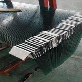 vidro Tempered 12mm do baixo ferro de 10mm para a mobília e o edifício