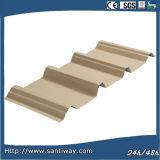 Colorear las hojas de acero revestidas utilizadas para el material para techos