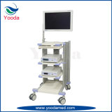Medizinische einfache Laptop-Karre verwendet in Hosptal
