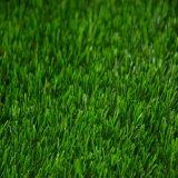 Gazon synthétique de jardin artificiel extérieur vert normal de pelouse (es)