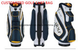 Высокого качества мешка тележки гольфа цены изготовления изготовленный на заказ модного водоустойчивый мешок 2016 гольфа сделанный из кожи PU
