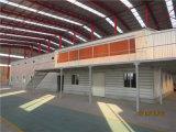 Steel Structure du bâtiment pour l'atelier Entrepôt Atelier / Acier