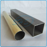 Edelstahl Welded Pipes (Tubes) Plated mit Titanium