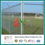 Galvanisierter Kettenlink-Zaun für Baseball/PVC überzogenen Garten-Zaun