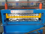 Full Auto Trapezoidal Profile e Corrugated Tile Roofing Sheet Roll Forming Machine
