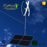 Sistema eléctrico híbrido solar del viento casero para el uso del hogar y de la granja